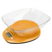 Весы кухонные ERGOLUX SK04-C11 (до 5 кг со съемной чашей) оранжевые