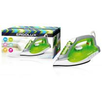 Утюг паровой электр. Ergolux ELX-SI02-C34 (тефлон, 2000Вт, 220-240В), салатовый