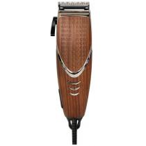 Машинка для стрижки волос ERGOLUX ELX-HC02-C10, 10Вт 220-240В, коричневое дерево