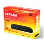 Perfeo STREAM цифровой эфирный ТВ-ресивер DVB-T2/C, Wi-Fi, IPTV, HDMI, 2USB, DolbyDigital, пульт