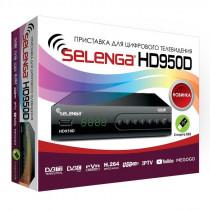 SELENGA HD950D цифровой эфирный ТВ-ресивер DVB-T2