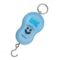 Весы - безмен электронный WH-A04 (до 50кг) голубой