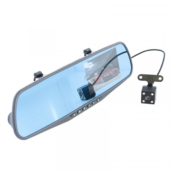 Видеорегистратор-зеркало AVS VRM-406FH