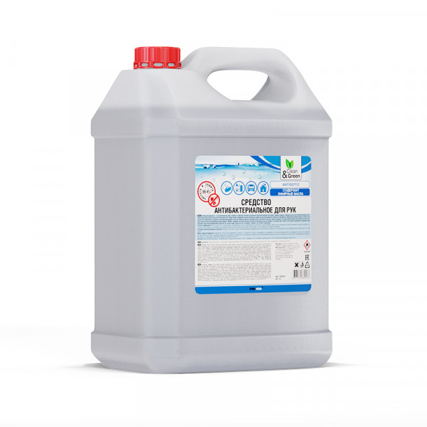 Антибактериальное средство Clean&Green CG8016 для рук, 5 кг.