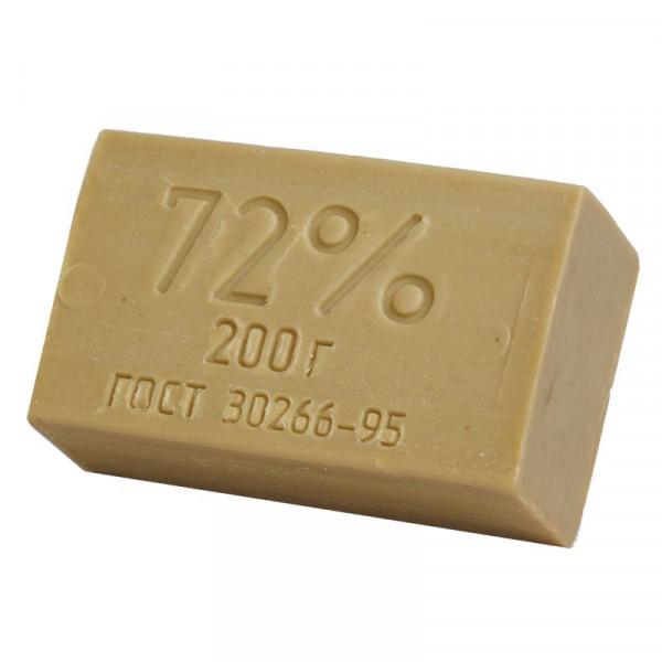 Мыло хозяйственное 72%, 200гр. без упаковки