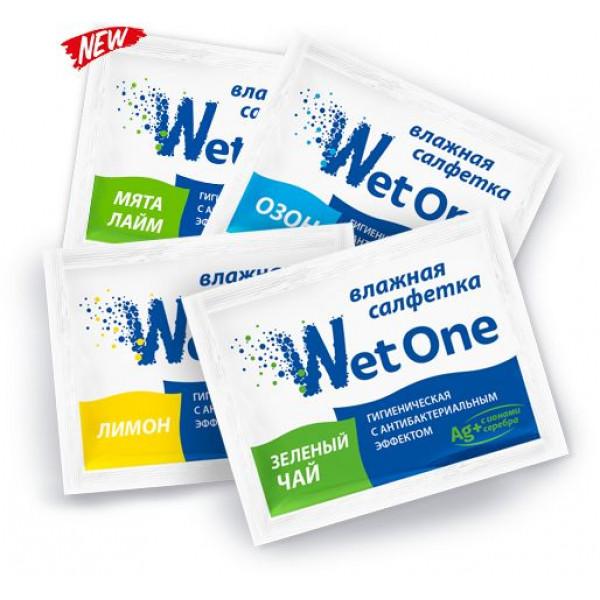 WetOne Салфетка влажная с антибактериальным эффектом (в индивидуальной упаковке)