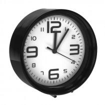 Часы с будильником 1002 чёрные