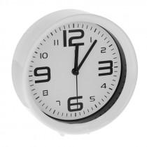 Часы с будильником 1002 белые