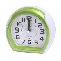 Часы с будильником 3018 зелёные