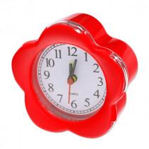Часы с будильником 8128 красные