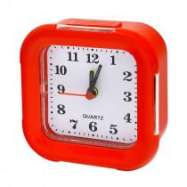 Часы с будильником 8129 красный