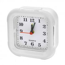 Часы с будильником 8129 белый