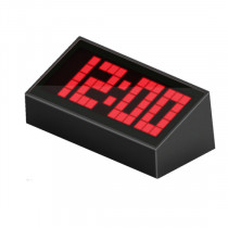 Часы с будильником KS-E0410R (t)