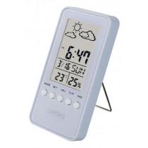 """Часы с метеостанцией Perfeo """"Window"""", с датчиком t, влажность, дата, белый (PF-S002A)"""