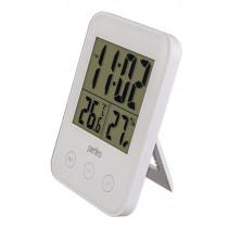 """Часы с метеостанцией Perfeo """"Touch"""", с датчиком t, влажность, белый (PF-S681)"""