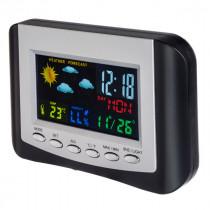 """Часы с метеостанцией Perfeo """"Color"""", с датчиком t, влажность, дата, цветной экран (PF-S3332CS)"""