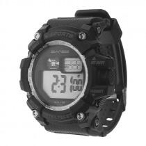 Часы наручные спортивные S-638 чёрно-серебристые