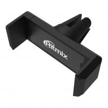 Держатель Ritmix RCH-007 V для телефона, на воздуховод, 360°, раздвижной