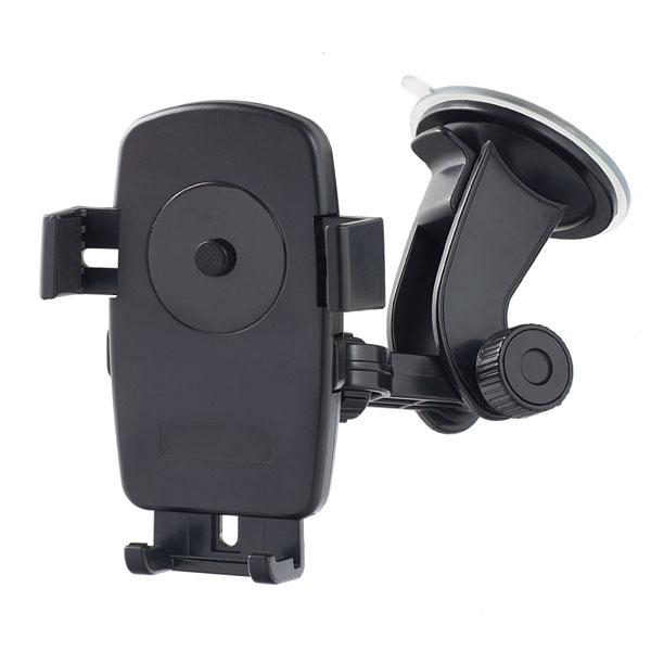 """Perfeo-502 чёрный Держатель для смартфона/навигатора/ до 5""""/ на стекло/ One touch"""