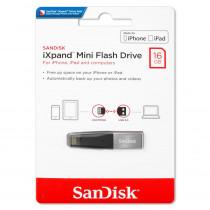 Флешка USB 16GB 3.0 SanDisk iXpand Mini (для iPhone and iPad)