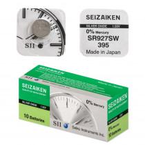 Элем.пит. AG7-1BL SEIZAIKEN (SR927SW/395) Silver Oxide (1/10/100)