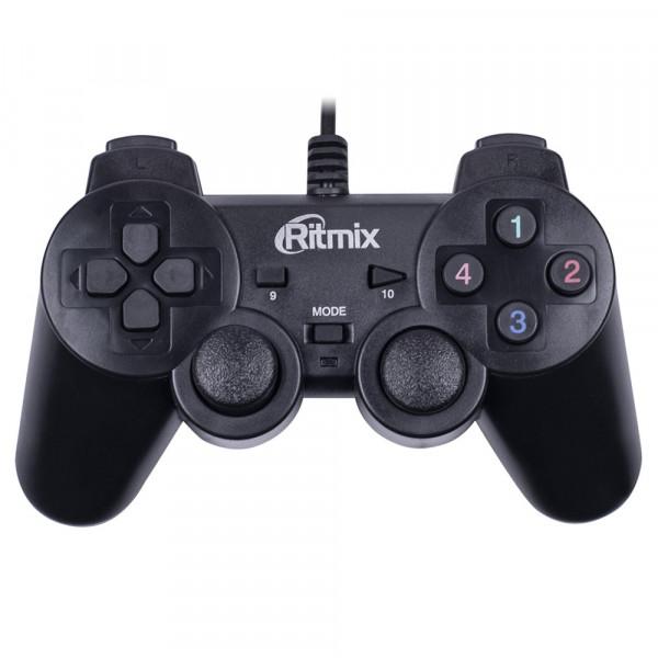 Геймпад проводной Ritmix GP-004 Black