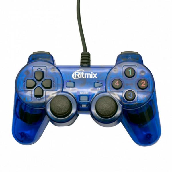 Геймпад GP-006 Ritmix Blue