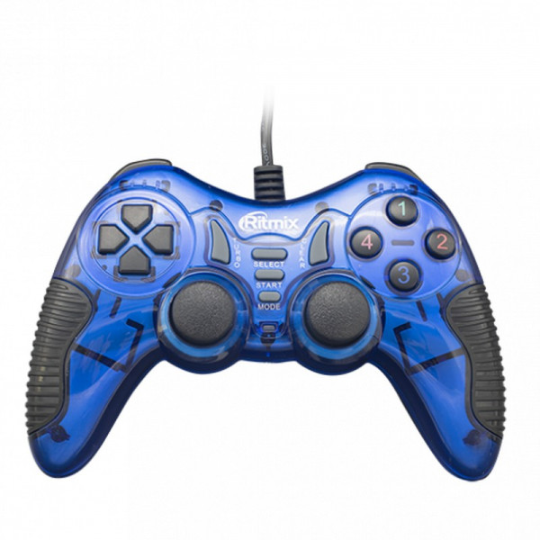 Геймпад GP-007 Ritmix Blue