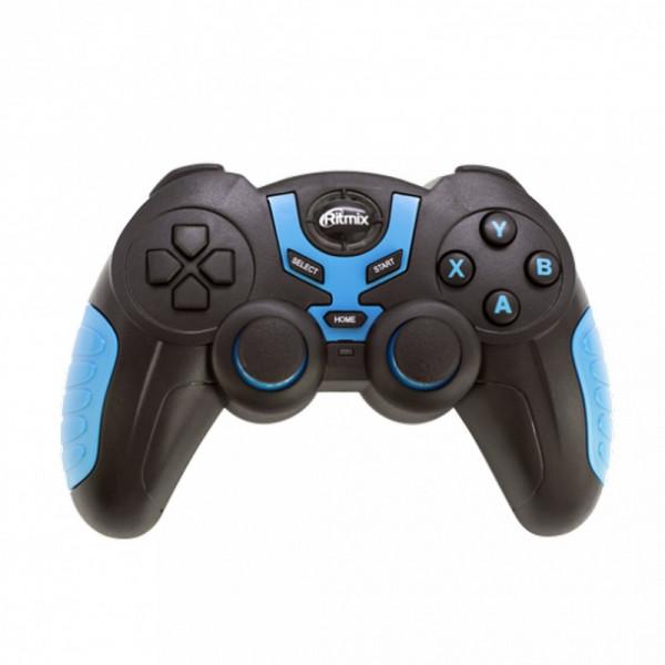 Геймпад беспроводной GP-031BTH Ritmix Bluetooth черн/синий