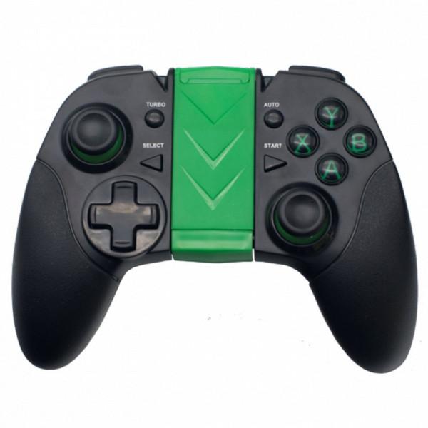 Геймпад беспроводной GP-035BTH Ritmix Bluetooth чёрн/зелёный