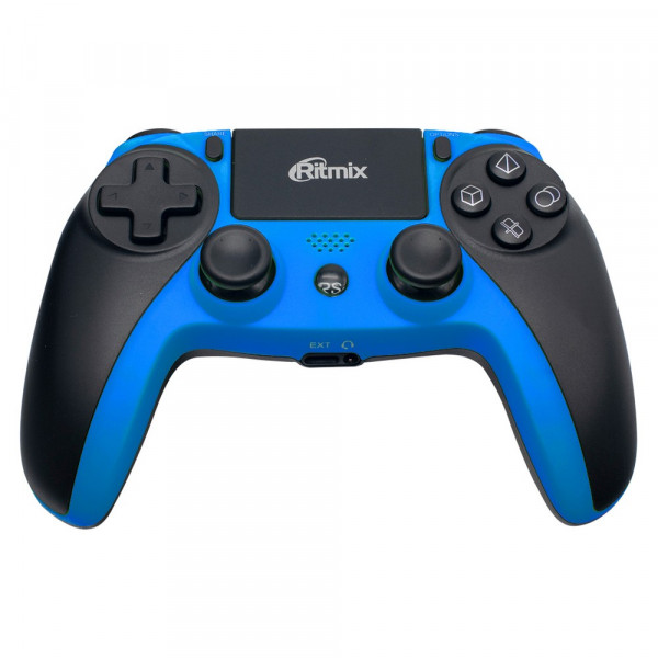 Геймпад беспроводной GP-063BTH Ritmix Bluetooth чёрн/синий