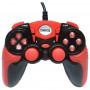 Геймпад проводной GP-A15 DIalog Action - вибрация, 12кнопок, USB, чёрно-красный