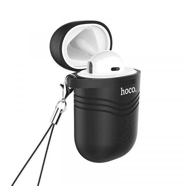 Bluetooth гарнитура (моно) Hoco E39, с док.станцией, белый