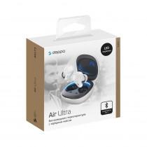 Bluetooth гарнитура (стерео)  TWS Deppa Air Ultra, белый