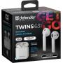 Bluetooth гарнитура (стерео)  TWS Defender Twins 631, белый