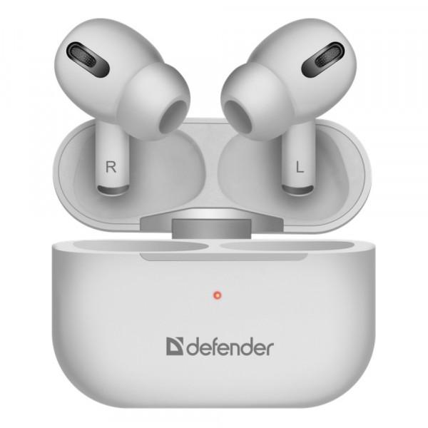 Bluetooth гарнитура (стерео)  TWS Defender Twins 636, PRO, белый