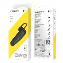 Bluetooth гарнитура (моно) Borofone BC21, чёрный