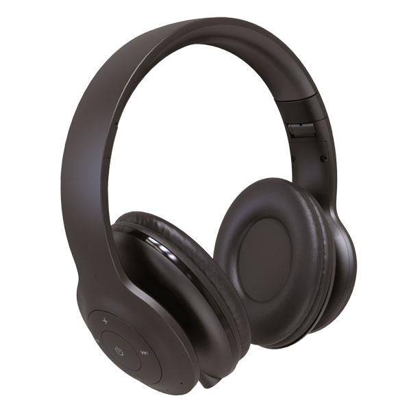 Bluetooth гарнитура (стерео) Perfeo SOLE полноразмерная, с микрофоном, чёрный