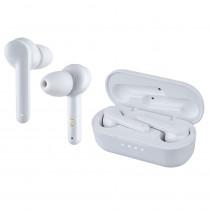 Bluetooth гарнитура (стерео)  TWS Perfeo NOTE автосопряжение, белый