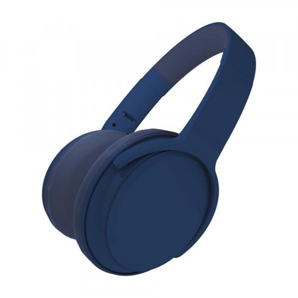 Bluetooth гарнитура (стерео) Ritmix RH-420BTH, накладная, (TF, FM, AUX), синий