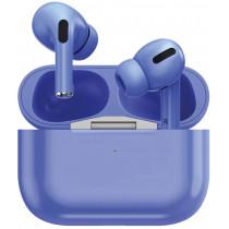 Bluetooth гарнитура (стерео)  TWS Prime Line Air Urban, синий