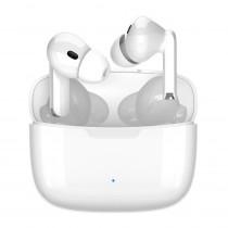 Bluetooth гарнитура (стерео)  TWS Deppa Air Space, белый