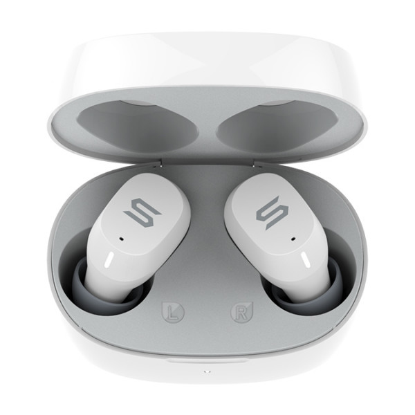Bluetooth гарнитура (стерео)  TWS SOUL Emotion 2, белый