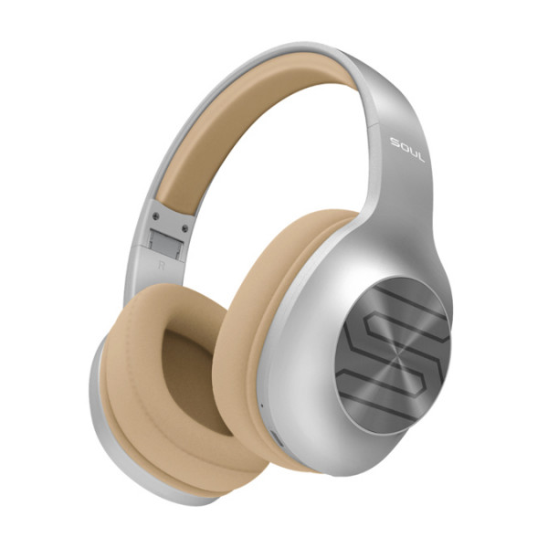 Bluetooth гарнитура (стерео) SOUL Ultra Wireless, полноразмерная, серебристая