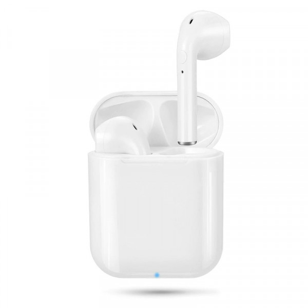 Bluetooth гарнитура (стерео)  TWS i9S v. 5.0 (анимация д/iOS), белый