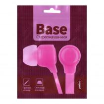 Наушники Perfeo внутриканальные BASE розовые NEW
