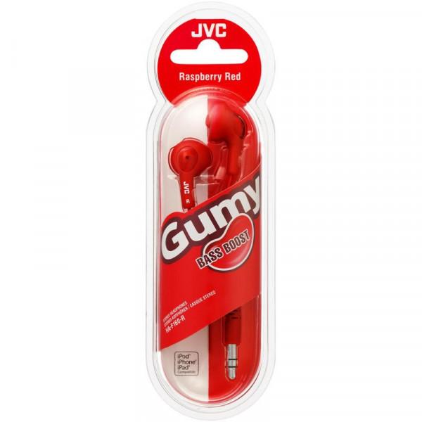 JVC HA-F160 Наушники вкладыши, красные