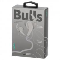 Наушники Perfeo BULLS внутриканальные, тканевый провод белые (30)