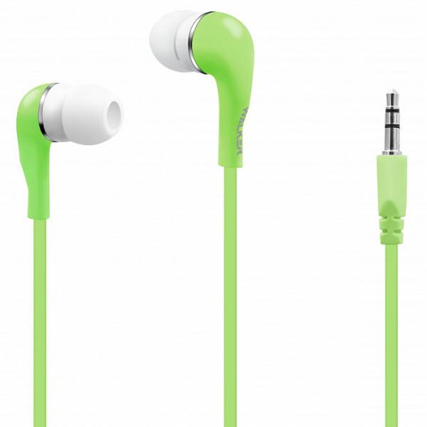Наушники WALKER H110, зелёный