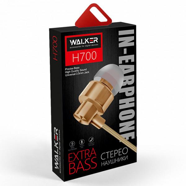 Гарнитура WALKER H700, золотистый